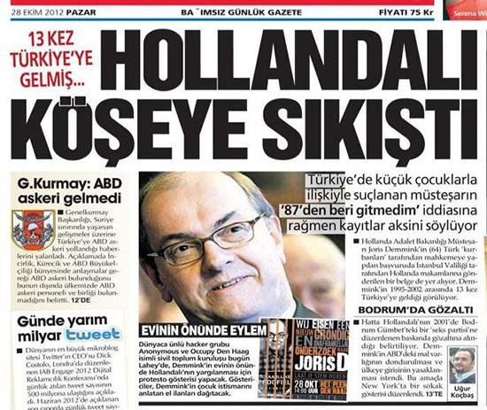rete euro pedofila La Rete Euro Pedofila Mostra la Coda. In Turchia... (di Maurizio Blondet)